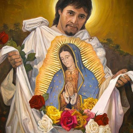 Image result for tilma and juan diego
